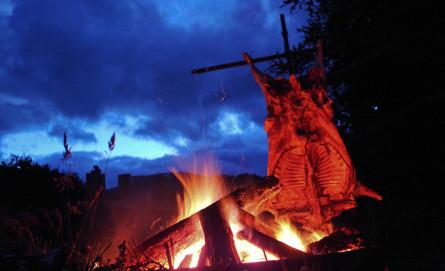Asado al Palo Patagonia