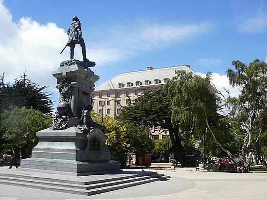Plaza Munoz Gamero, Punta Arenas